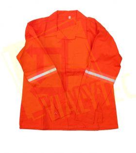 Camisa Industrial Naranja con Reflejante