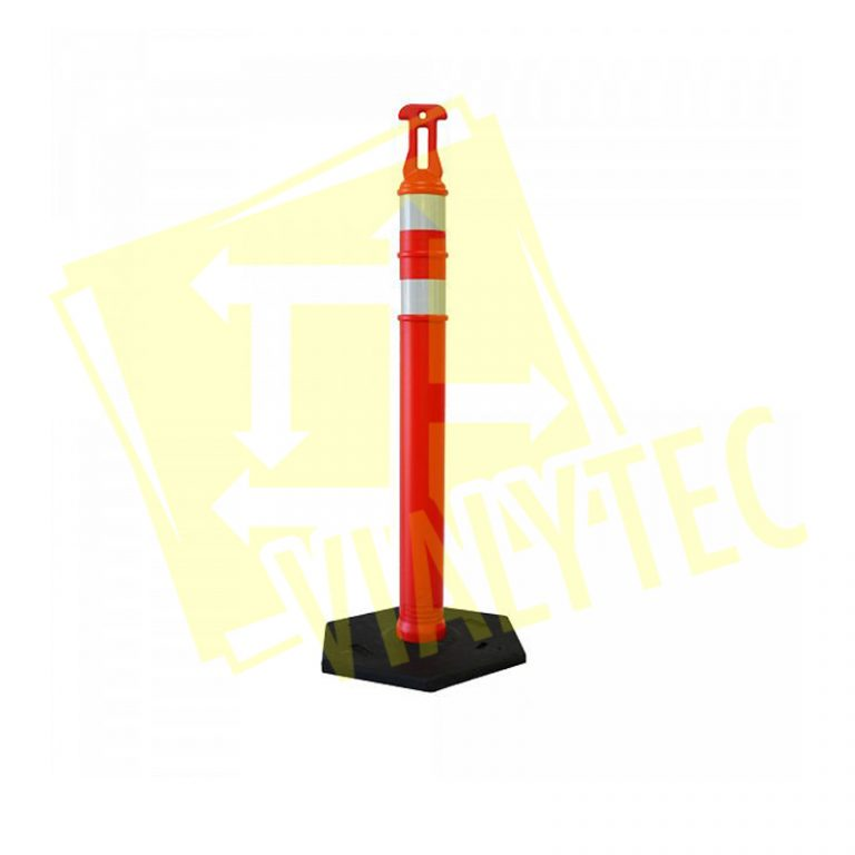 Alineador Color Naranja Base Negra