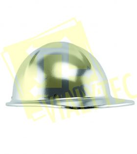 Casco Aluminio Color Gris Marca Infra