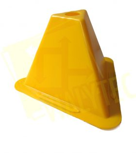 Cono acceso Amarillo
