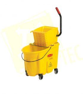 Cubeta Con Exprimidor Amarilla 30 Litros