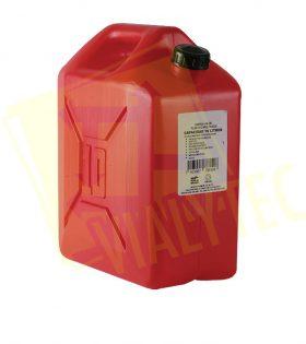 Garrafón Rojo Plástico De 10 Litros